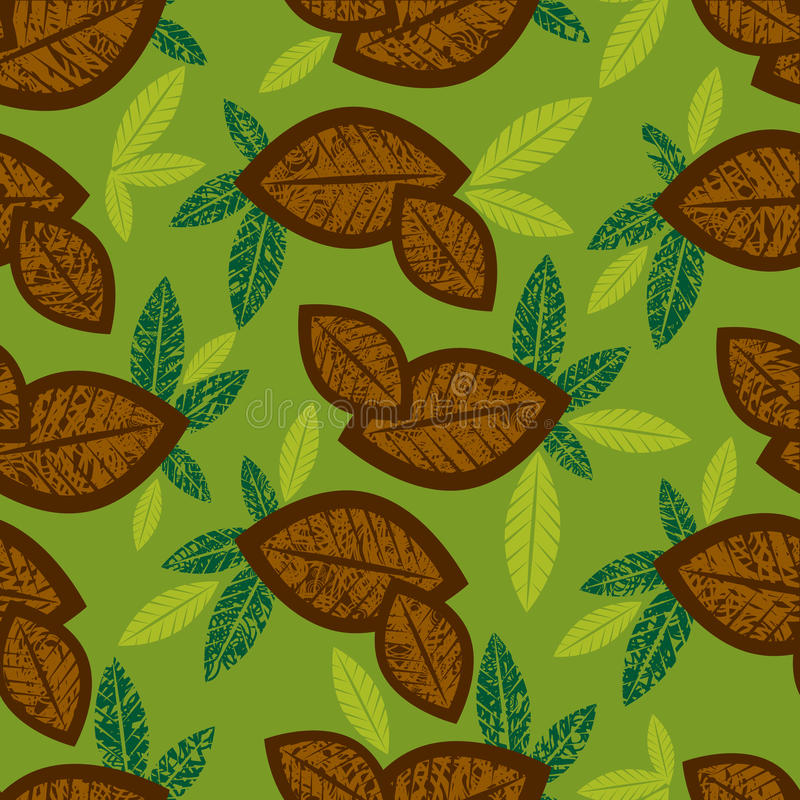 Download Seamless Floral Pattern With Coffe Stock Vector - Image: 16263816