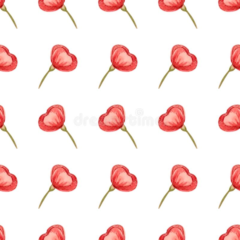 Seamless floral pattern with soft pink blossom can be used for textile printing, ad, background, wallpaper. Romantic royalty free illustration