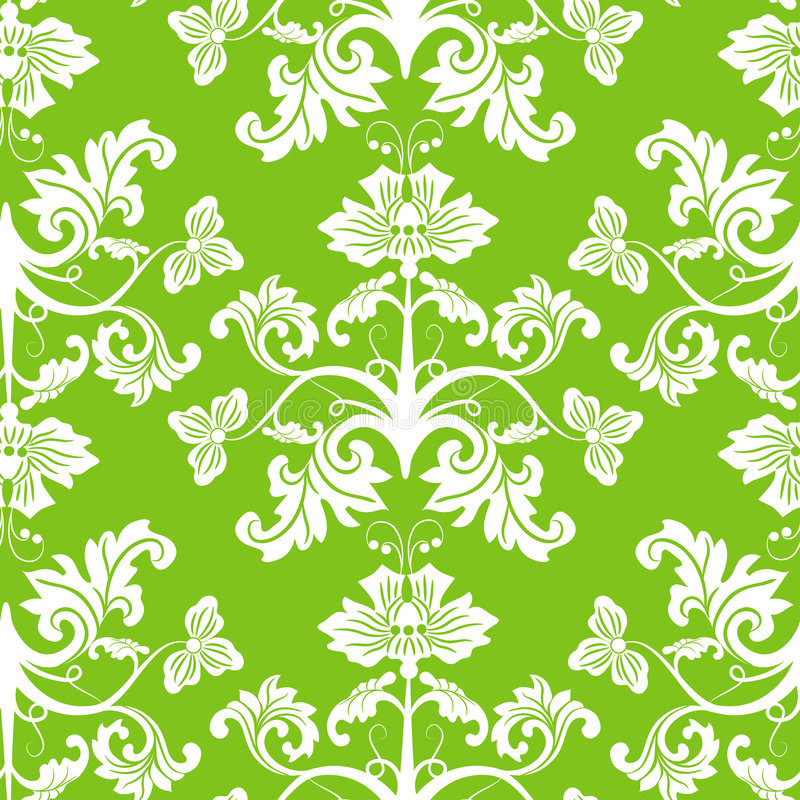 Download Seamless Floral Pattern, Vector Stock Image - Image: 8500281