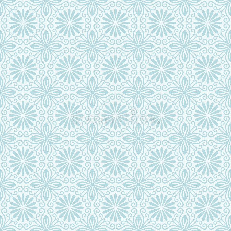 Seamless Florall Pattern stock illustration