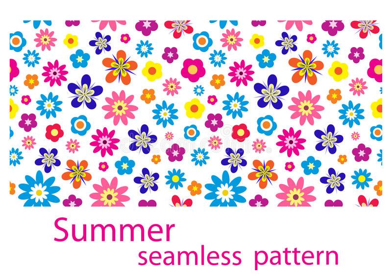 Download Seamless flower pattern stock vector. Illustration of creative - 14479743