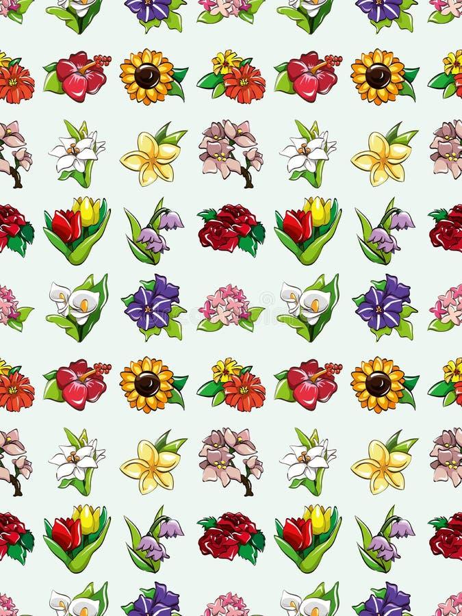 Download Seamless flower pattern stock vector. Illustration of botanical - 28055663