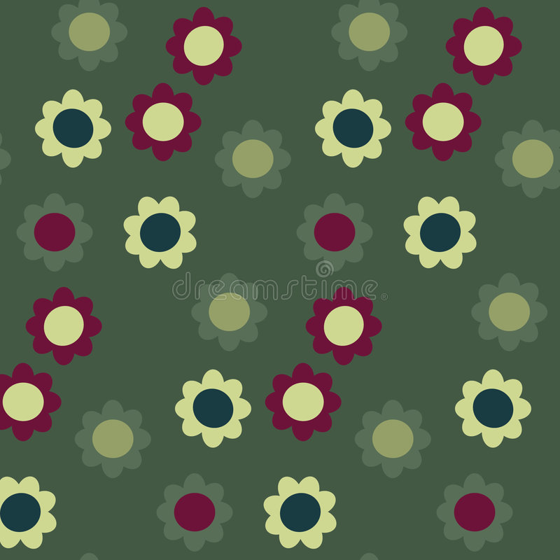 Download Seamless flower pattern stock vector. Image of seamless - 7601406