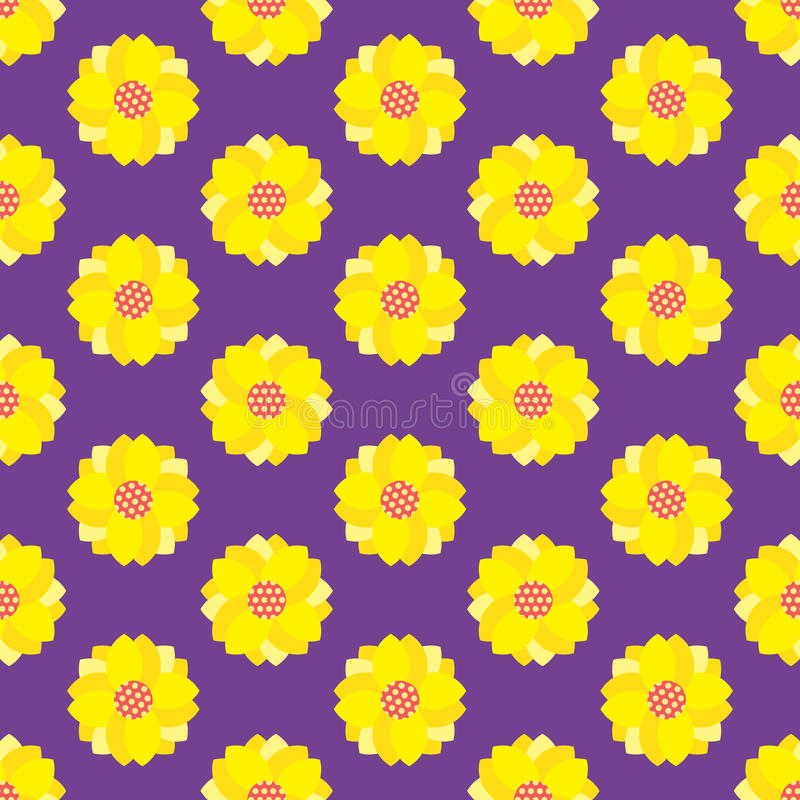 Seamless Flower pattern royalty free stock images