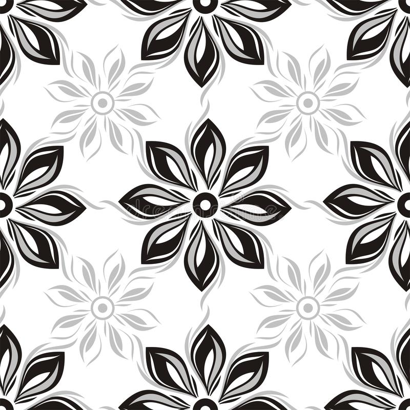 Download Seamless Flowers Background Stock Vector - Illustration: 26158002