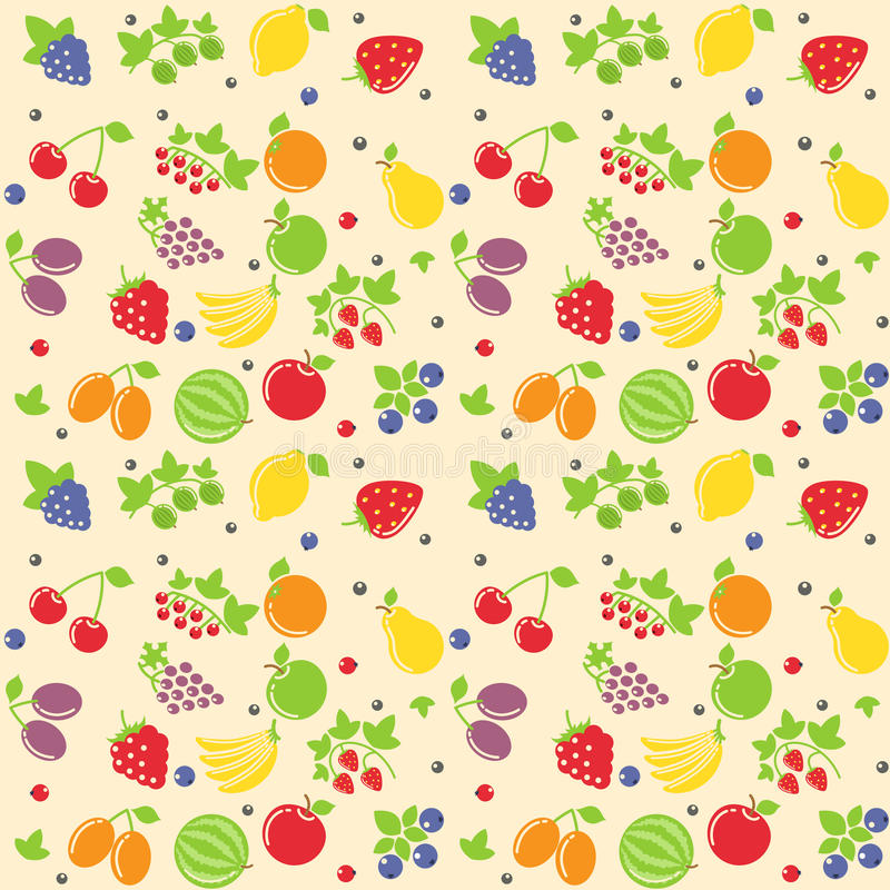 Download Seamless fruit texture stock vector. Image of ripe, vector - 29641999
