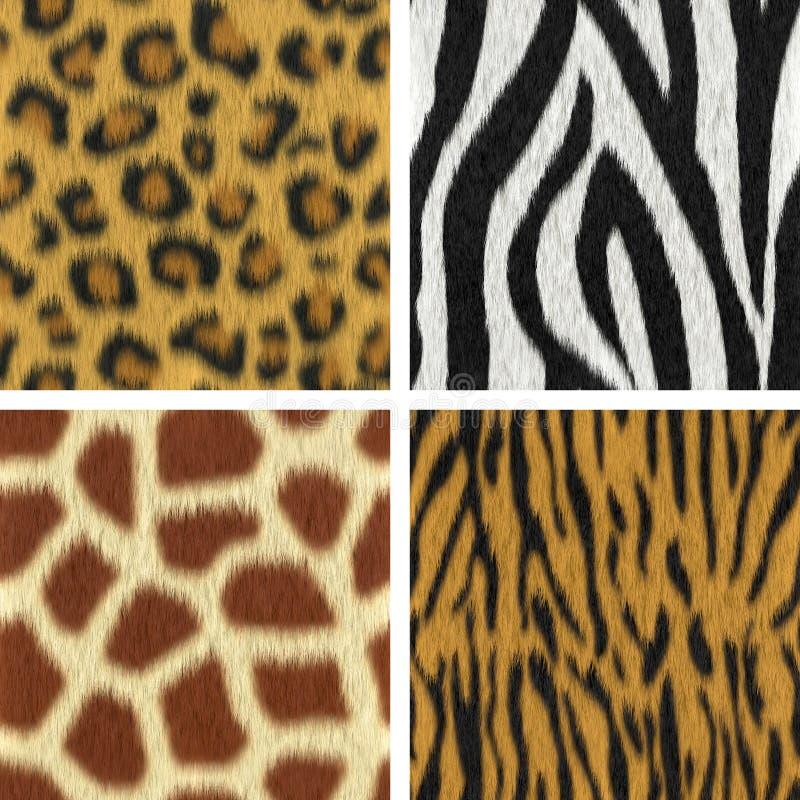 Download Seamless Fur Textures stock illustration. Illustration of seamless - 29821437