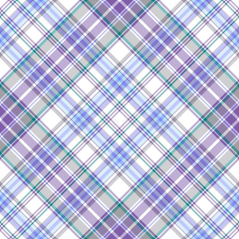 Free Seamless Gentle Tartan Diagonal Pattern Stock Photos - 13020373