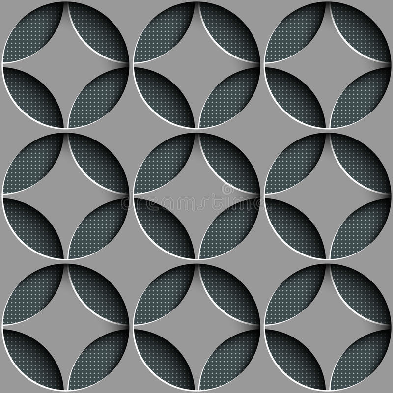 Seamless Geometric Background vector illustration