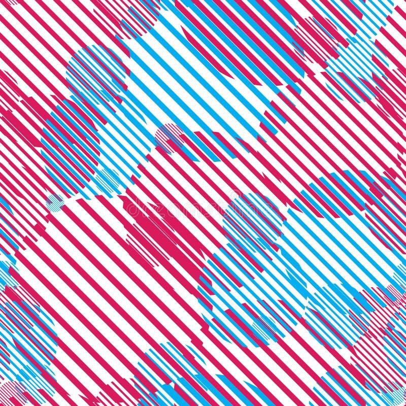 Seamless Geometric Pattern Stock Images