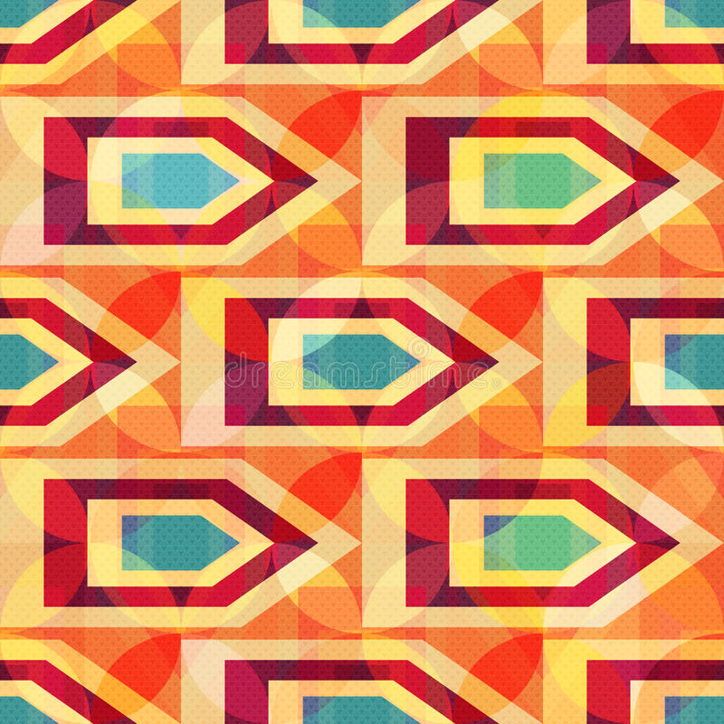 Seamless geometric pattern colored polygons for your design vector illustration