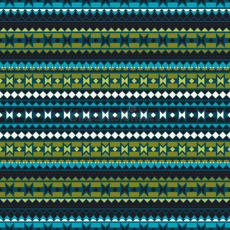 Seamless geometric pattern in ethnic style. Patterns of American Indians. The texture of the cover, fabric, background, paper, wra vector illustration