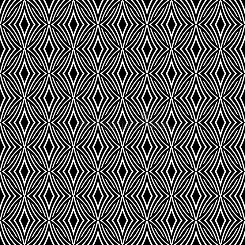 Seamless geometric pattern. Lines texture vector illustration