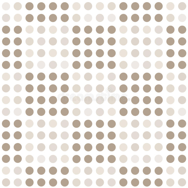 Seamless geometric pattern with square of circles. royalty free illustration