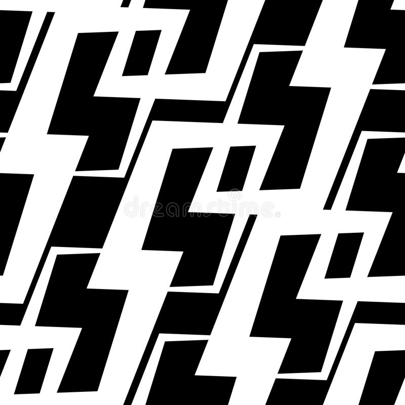 Seamless Geometric Pattern. Vector Abstract Seamless Geometric Pattern vector illustration