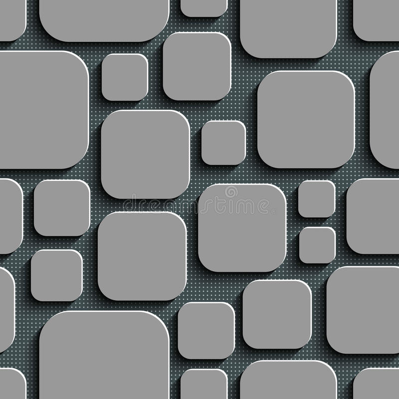 Seamless Geometric Pattern. Vector Abstract Seamless Geometric Pattern royalty free illustration