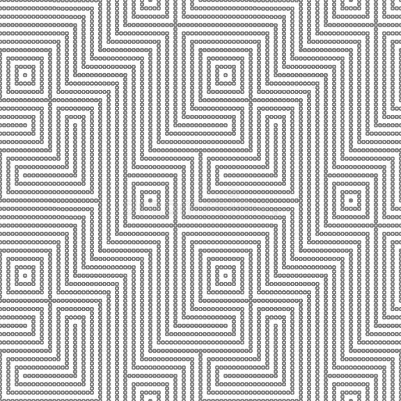Seamless geometric pattern vector illustration