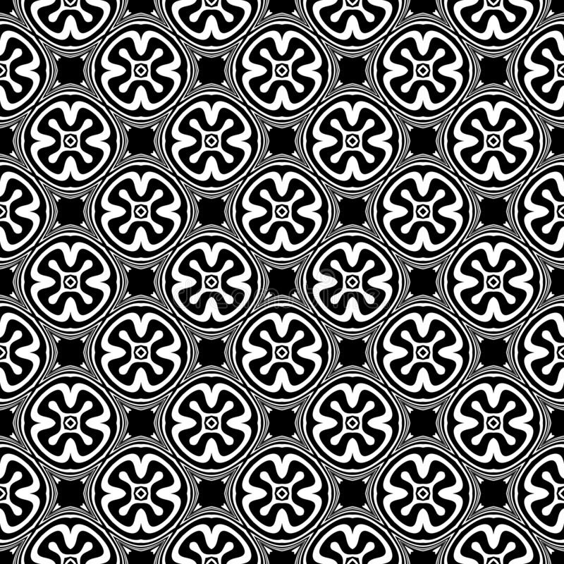 Black and white seamless repeated geometric art pattern background. Textile, books. SEAMLESS, GEOMETRIC REPEAT ,PRINTING .BED SHEET, ,DOMESTIC PATTERN ,SMALL vector illustration