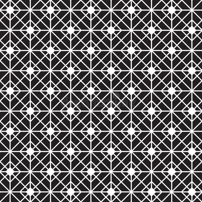 Seamless Geometric Trellis Lattice Pattern Texture Background royalty free illustration