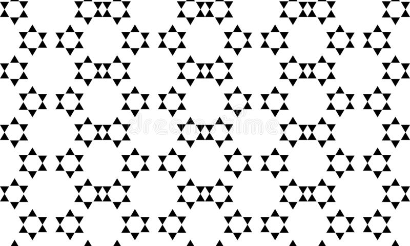 Seamless geometric vector background, simple black and white stripes vector pattern, accurate, editable and useful background for. Seamless geometric vector stock illustration