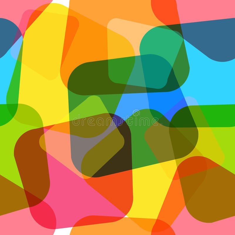 Seamless geometric wallpaper vector illustration