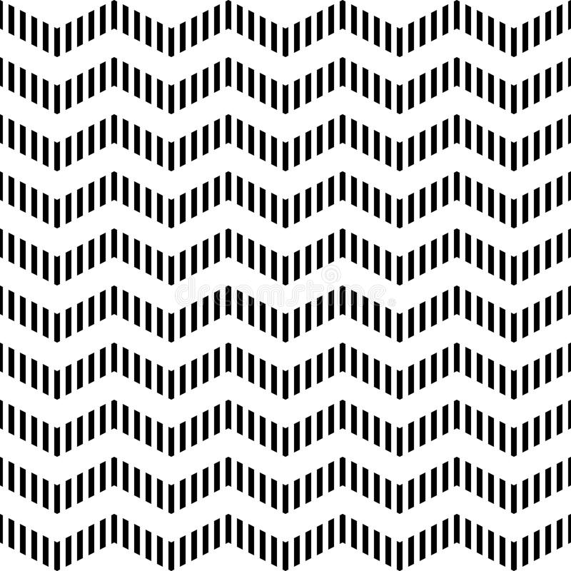 Download Seamless Geometric Zigzag Pattern. Stock Vector - Image: 26909481