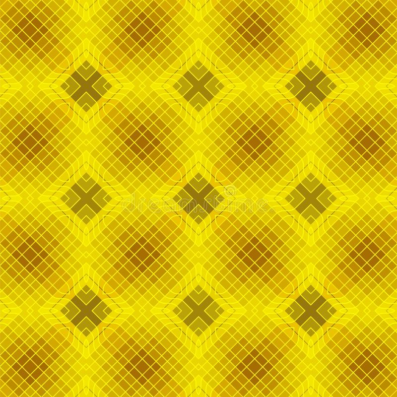 Seamless geometrical background with intricate lattice. May be useful for print, fabric, wrapping, packing, tapestry, craftsmanship, scrap-booking vector illustration