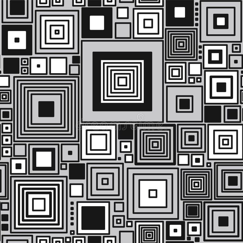seamless geometrisk modell stock illustrationer