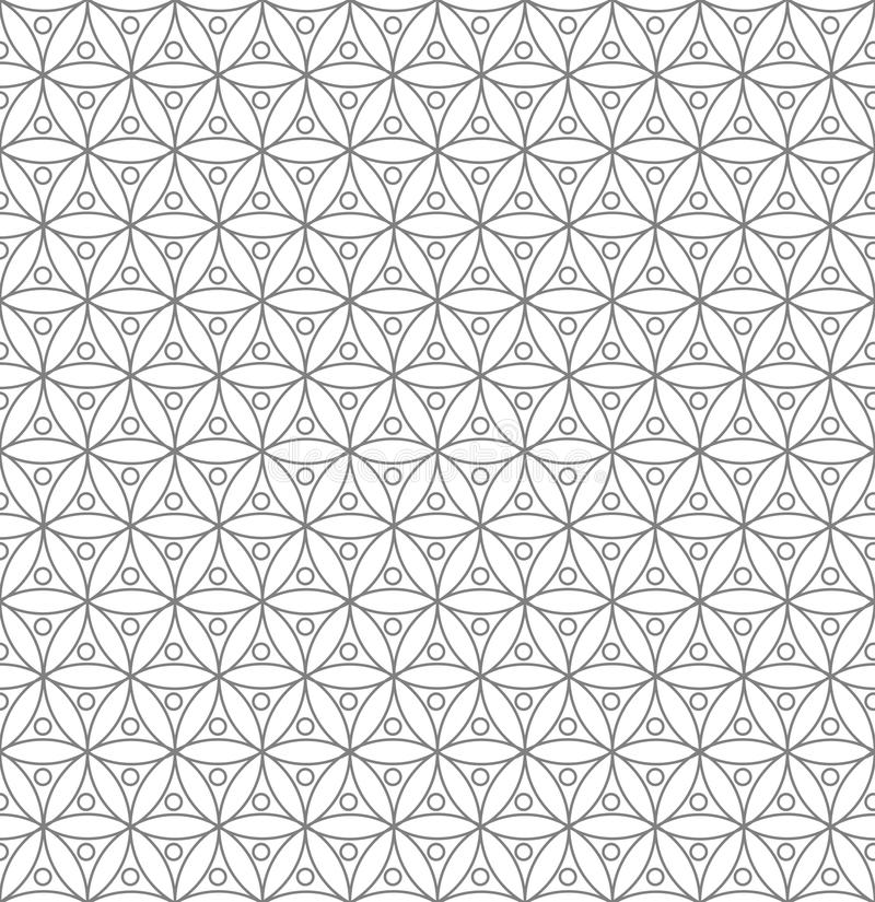 seamless geometrisk modell vektor illustrationer