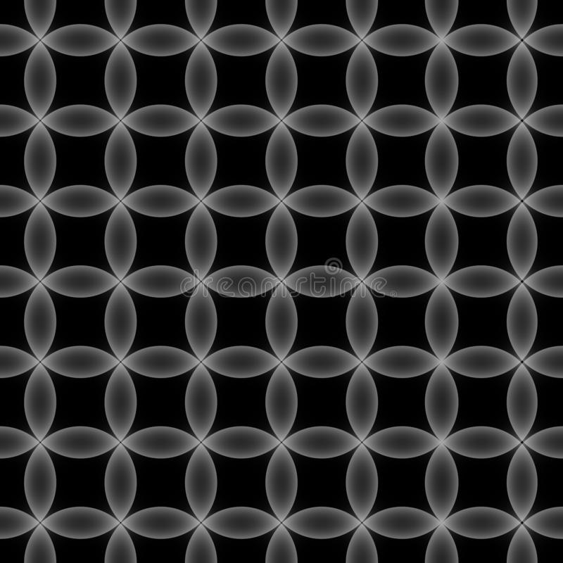 seamless geometrisk modell vektor illustrationer