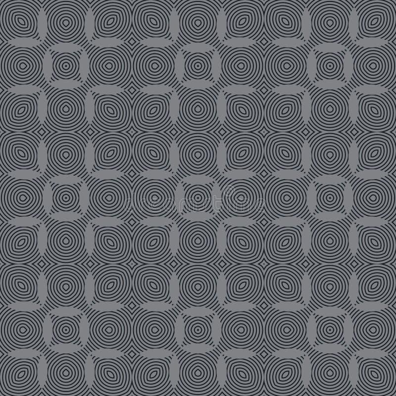 seamless geometrisk modell Geometriskt enkelt tryck Vektor som upprepar textur vektor illustrationer
