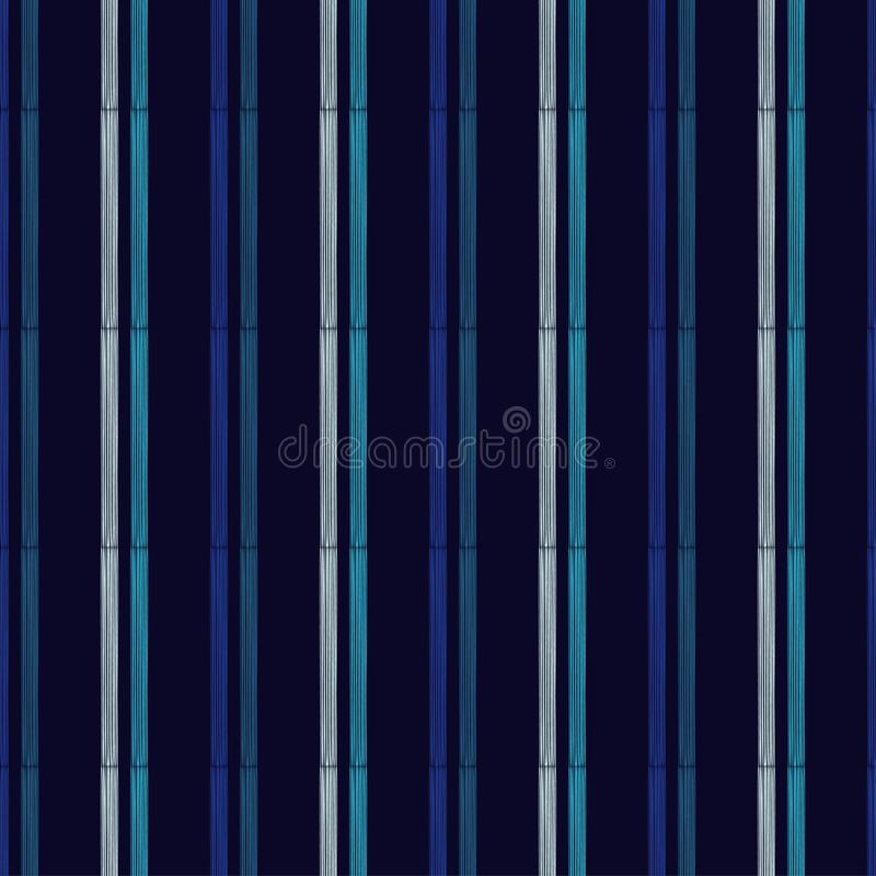 seamless geometrisk modell Textur av mång--färgade band Klottra textur vektor illustrationer