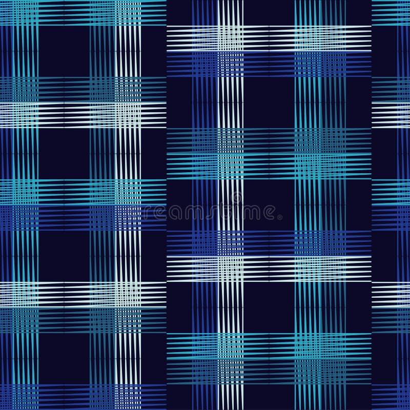 seamless geometrisk modell Texturen av remsorna royaltyfri illustrationer