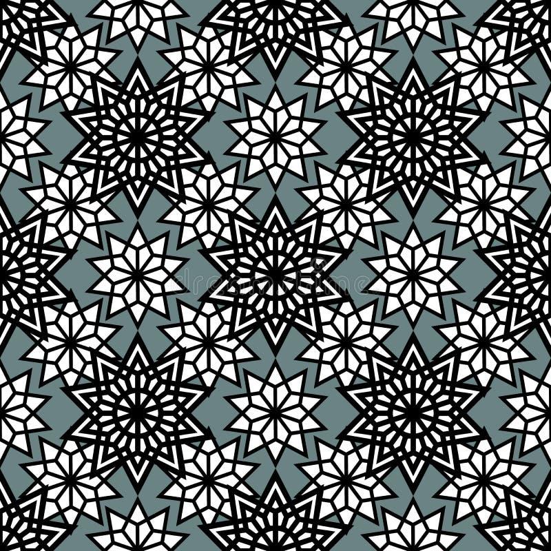 seamless geometrisk modell vektor royaltyfri illustrationer