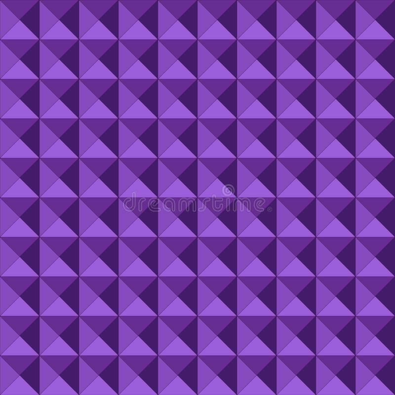 Seamless Geometrisk Präglad Modell Royaltyfri Bild