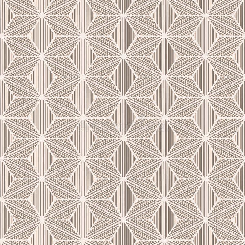 Seamless geometrisk vinterbakgrund vektor illustrationer