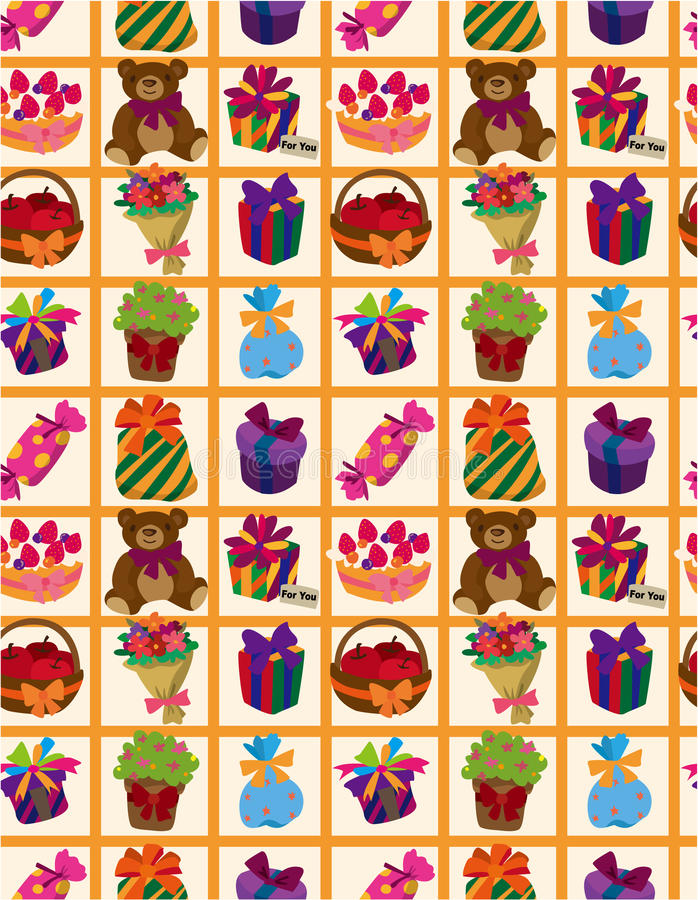 Download Seamless Gift Pattern Stock Photography - Image: 17261122