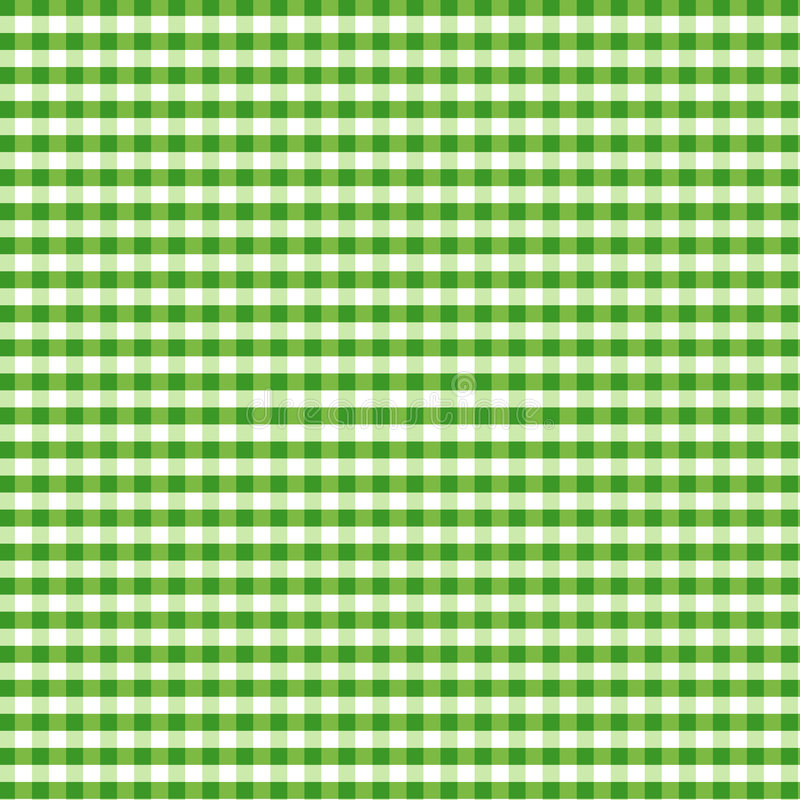 Download Seamless Gingham, Green stock vector. Image of decorating - 5712505