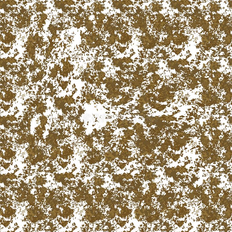 Seamless gold glitter texture isolated on golden background. Vector illustration for shimmer background. Sparkle sequin tinsel stock photo