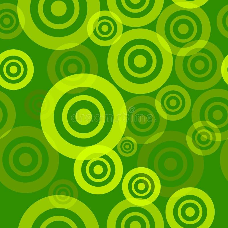 seamless grön modell stock illustrationer