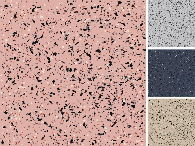 Seamless granite texture royalty free illustration