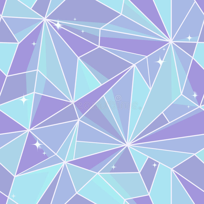 Seamless graphic design. Crystal stock image