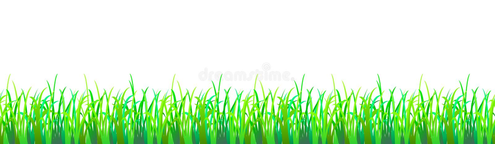Seamless grass royalty free stock image
