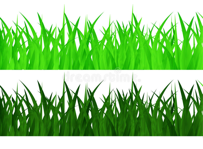 Download Seamless grass stock vector. Illustration of isolated - 32945547