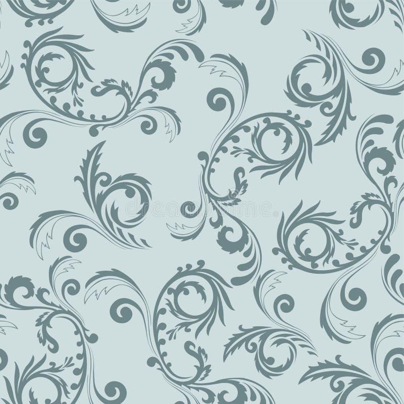 Download Seamless gray ornament stock vector. Illustration of dark - 20106086