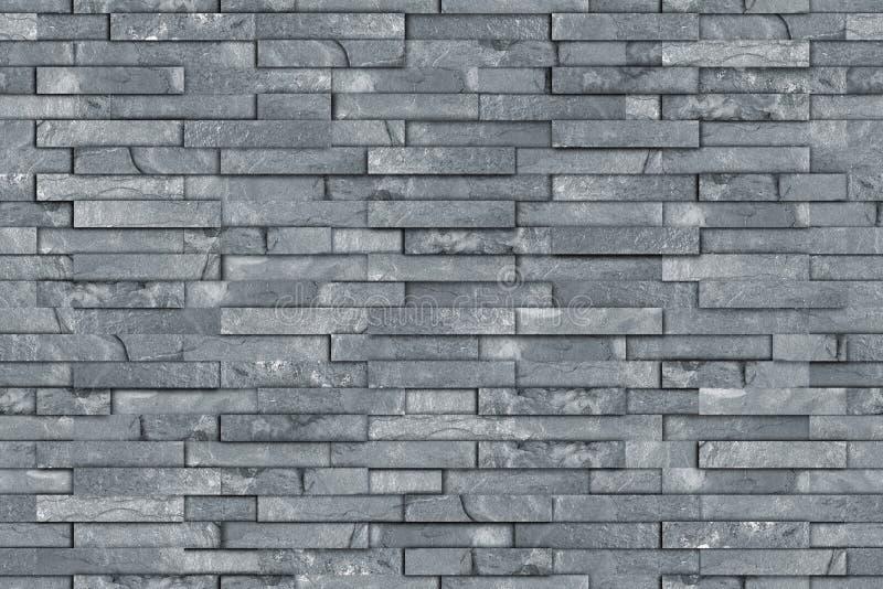 Seamless gray slate wall texture royalty free stock photography