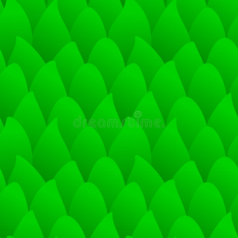 Download Seamless green forest stock illustration. Image of leafage - 23623766