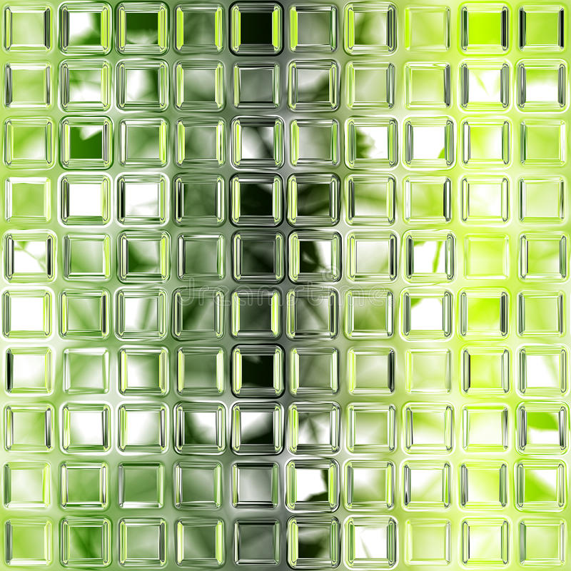 Download Seamless Green Glass Tiles Texture Stock Illustration - Illustration: 15014844