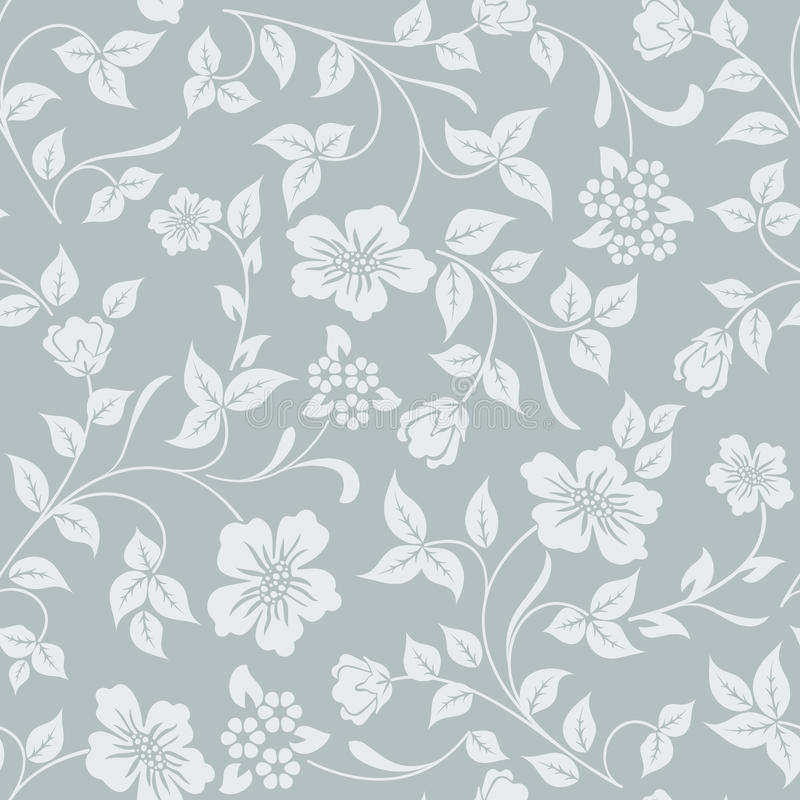 Seamless grey and white flower background stock vector download seamless grey and white flower background stock vector illustration of design nature mightylinksfo
