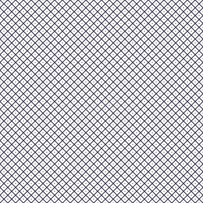 Seamless grid background with small dots, geometric abstract vector pattern. vector illustration
